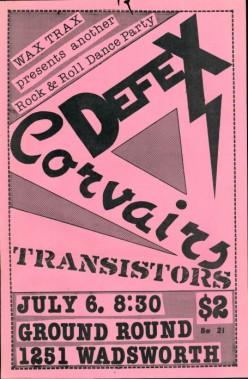 DefeX, Corvairs, Transistors, 1979
