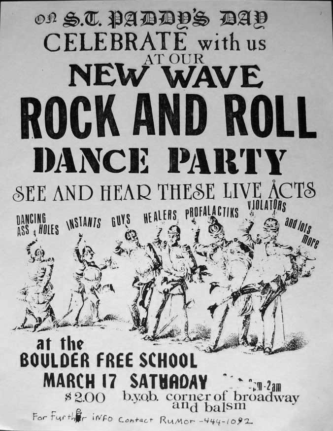 Boulder Free School, 1979