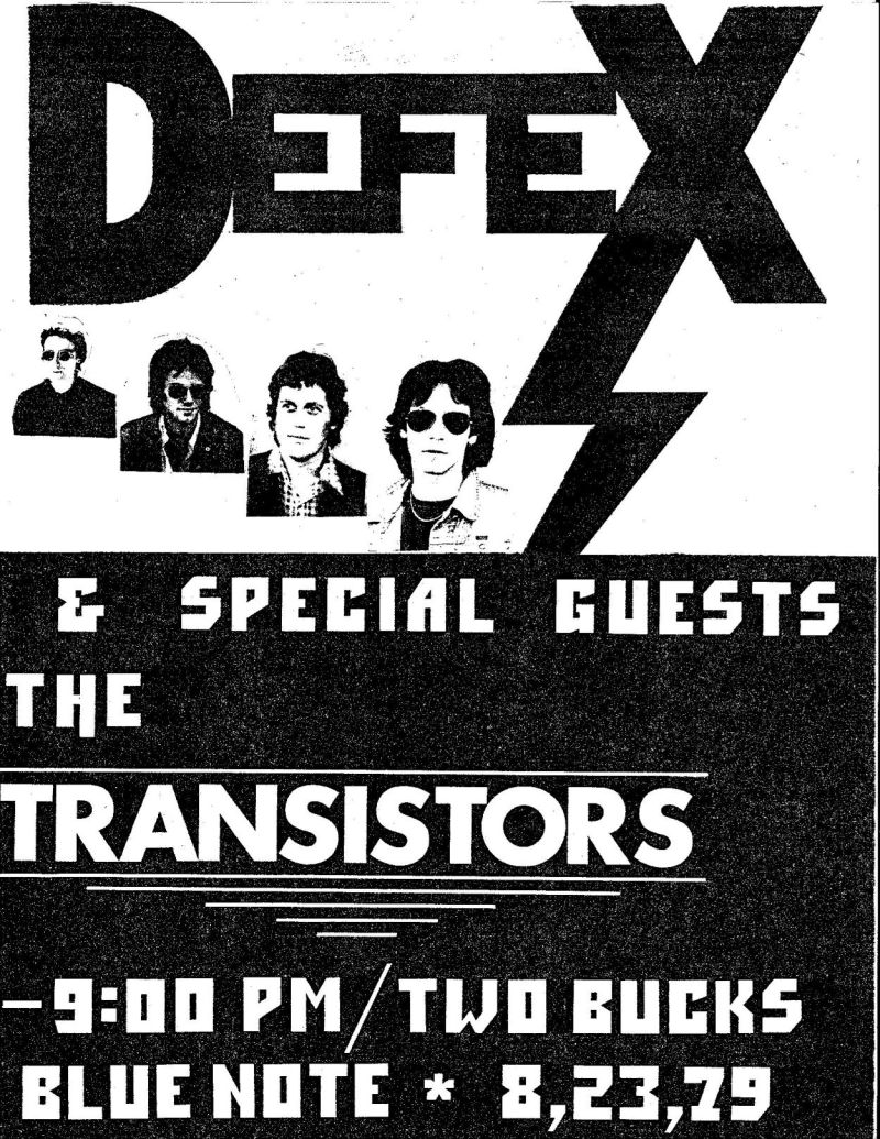 Defex @ The Blue Note, 1979