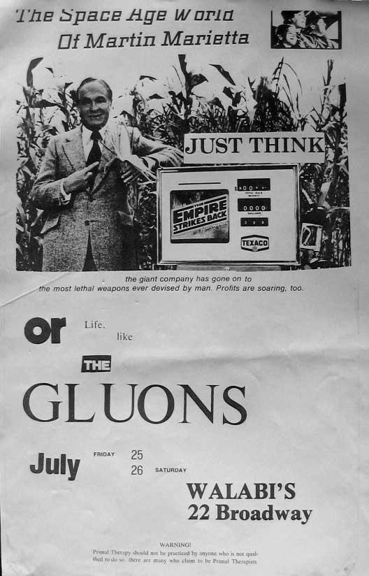 Gluons & Varve, 1980
